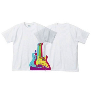 JIINO T-Shirt (Guitar) White